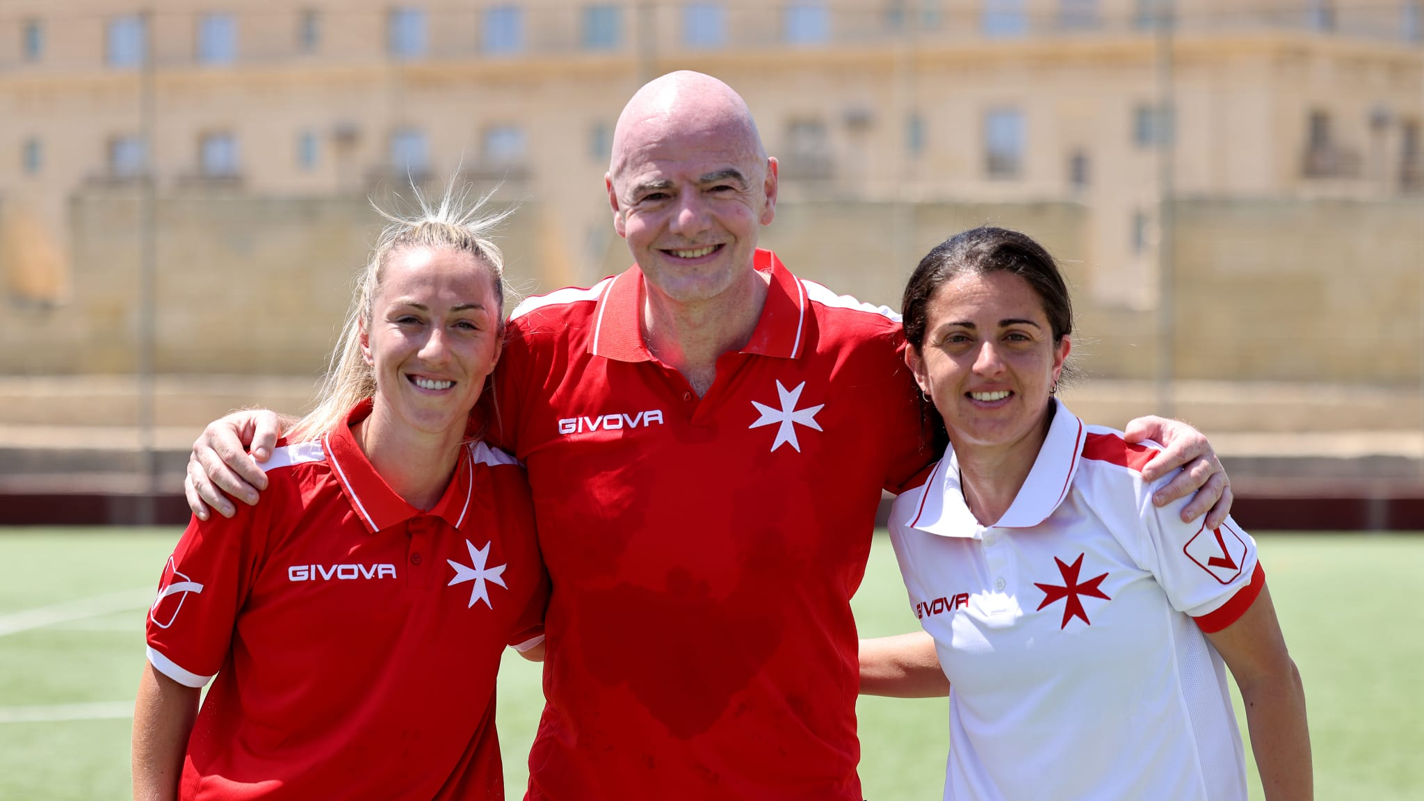 FIFA President cherishes past and looks Forward on visit to Malta