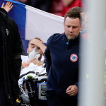 Denmark's Eriksen had cardiac massage on pitch, was able to speak before going to hospital -team doctor