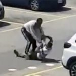 WATCH Food delivery workers in a tussle
