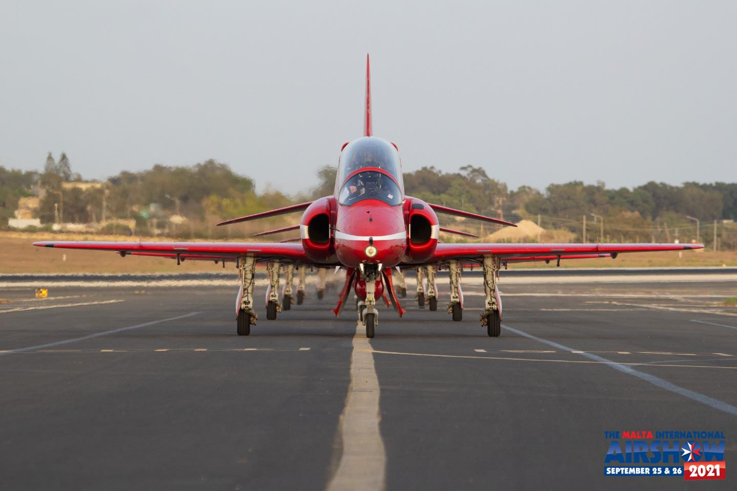 Crowds awed by Red Arrows' return to Malta Air Show