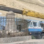 Vandalised Qormi Dejam Cross: a father and son charged with vandalism